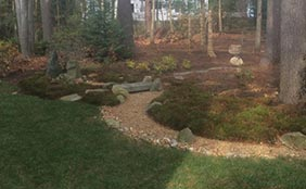 Brunswick, Maine Residential Landscaping